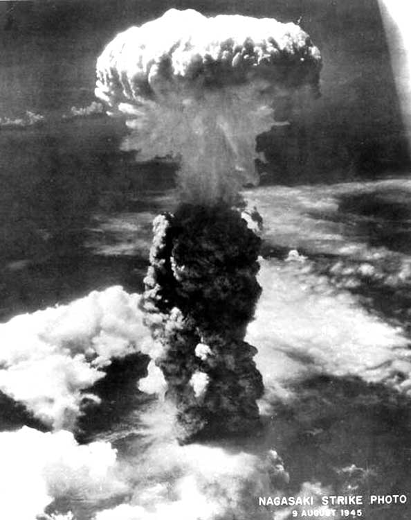 an analysis of the atomic bombs dropped on the japanese cities hiroshima and nagasaki Bombing of hiroshima and nagasaki following the successful test detonation of an atomic bomb at had already been passed in the firebombing of japanese cities.