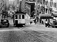 Powell Street cable cars, San Francisco