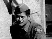 Hichiro Matsumoto, basic training at Camp Shelby
