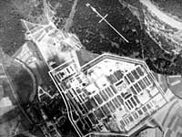 Stalag VII A, aerial view, Moosburg, Germany