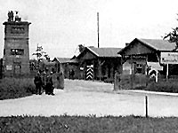 Stalag VII A,camp entrance, Moosburg, Germany
