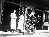 Aiea (Oba) Barber Shop, Aiea, Hawaii