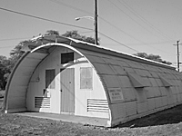Quonset Hut, Lualualei, Hawaii